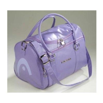 Head Holdall Retro St Moritz Travel Shoulder Bag Gym Sports - Purple £24.99