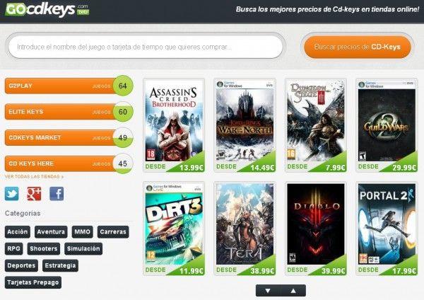 Ofertas de precios de videojuegos