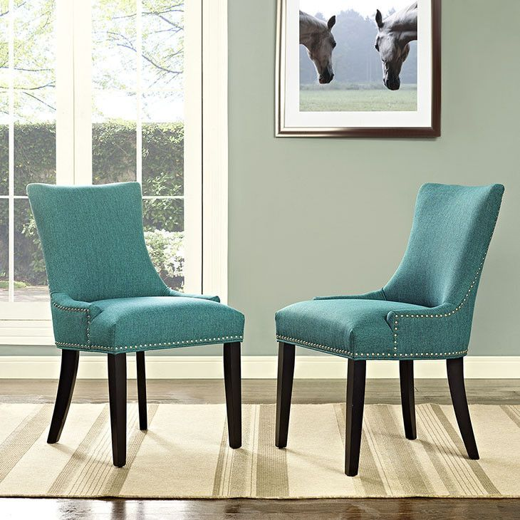 Fabric Dining Chairs Teal top 25+ best upholstered dining chairs ideas on pinterest