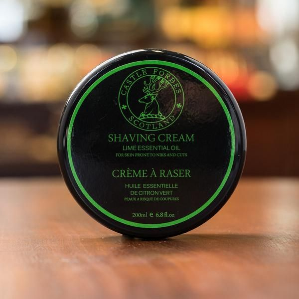 Castle Forbes Lime Essential Oil Shaving Cream 200ml