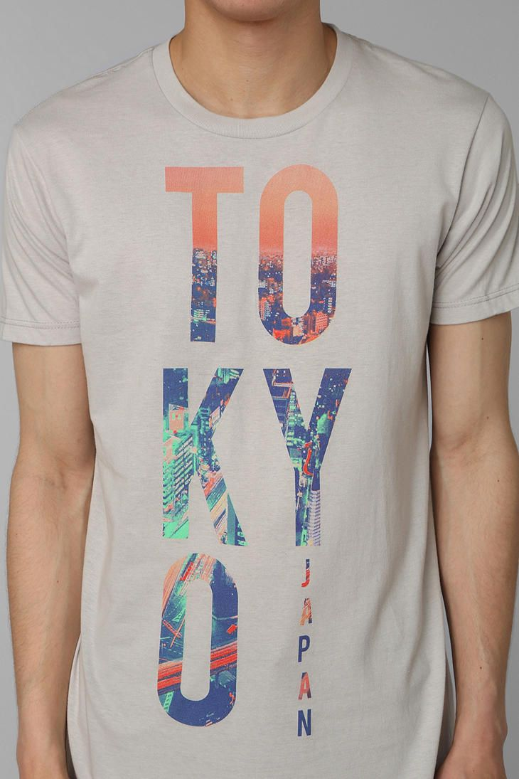 Design t shirt graphics online - Find This Pin And More On Tees Graphics Bowery Tokyo City Tee Online Only