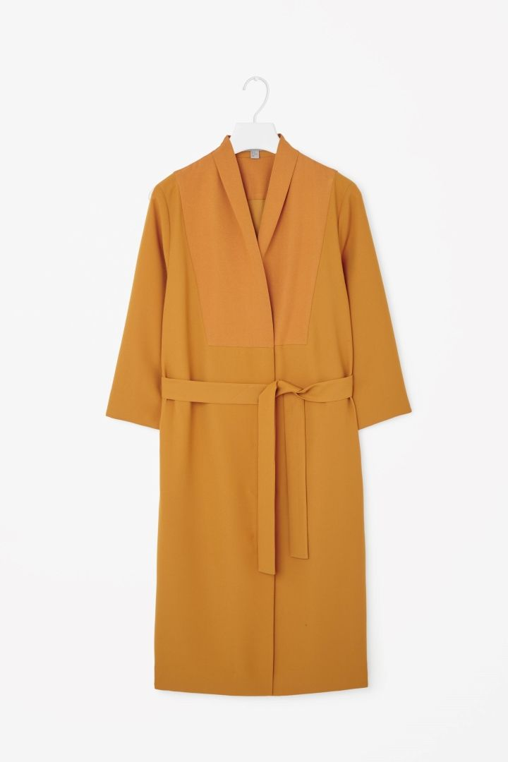 COS   Long blazer dress