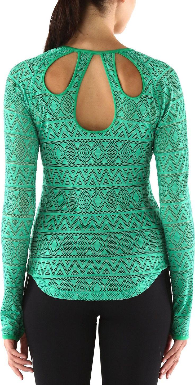 A lightweight trail running option made of soft, featherweight fabric—Women's ASICS Courtenay Shirt.