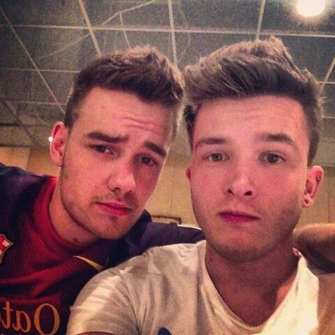 Photo of Liam Payne  & his friend Josh Devine