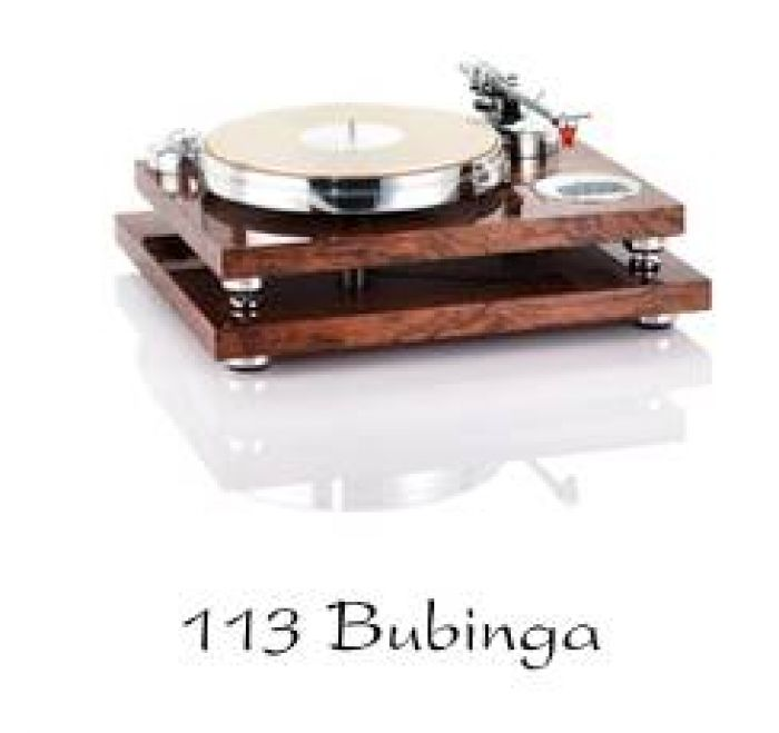 Solid 113 Bubinga - High End Plattenspieler in exklusiven Designs vom Fachmann: Acoustic Solid