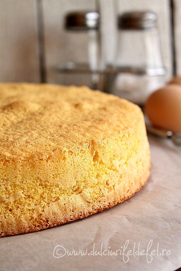 Blat de tort cu vanilie