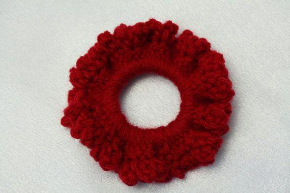 Hair scrunchie Hair tie Pony tail tie Gift for by AtelierGarofita