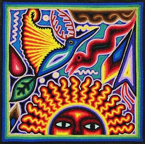 Huichol Yarn Art -