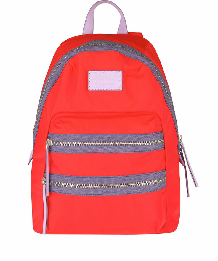 Marc by Marc Jacobs Red Domo Arigato Packrat Backpack | Bags by Marc by Marc Jacobs | Liberty.co.uk