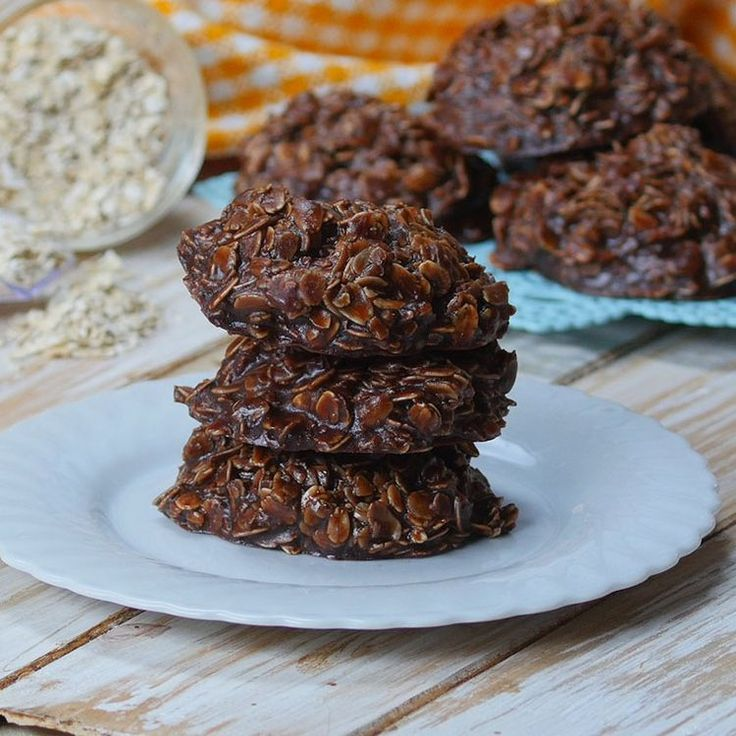 No bake Chocolate Oatmeal Cookies are one of the all time best cookies out there and you have got to try them. That may sound dramatic, but it is just fact. They are chewy and perfect and you really will love them, I promise! The best thing is that