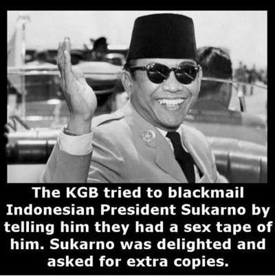 Funniest Memes - [The Kgb Tried To Black Mail Indonesian President]