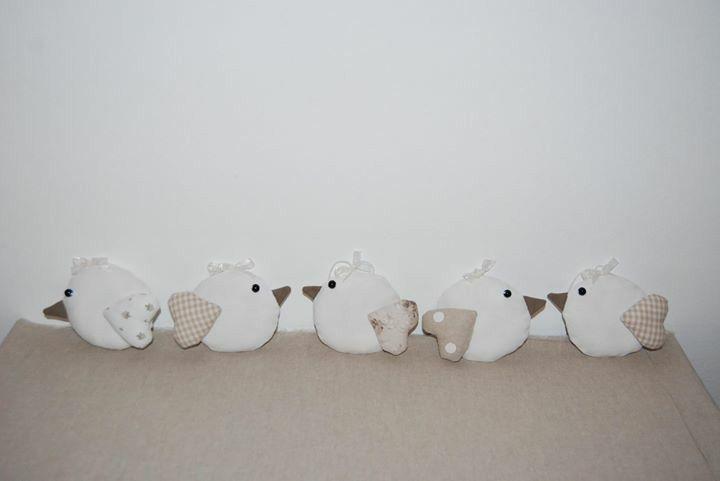 Uccellini alla lavanda <3 Lore Cucito Creativo