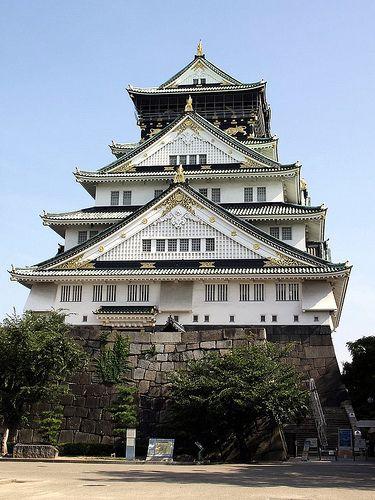 大阪城本丸(大阪) castle of osaka, hommaru, japan