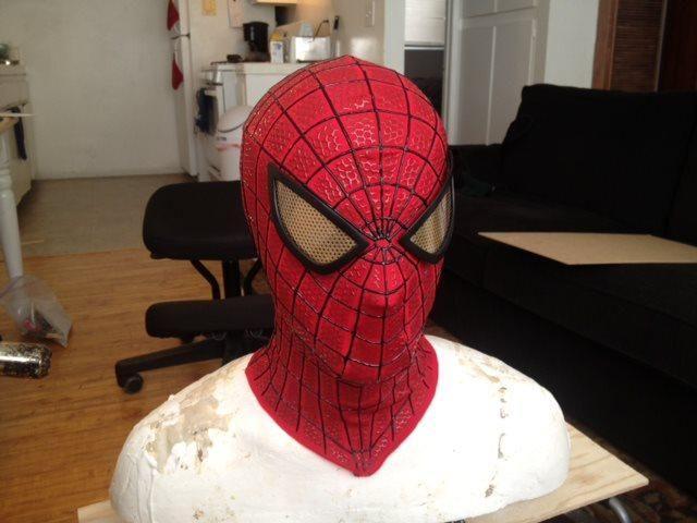 Amazing Spider-Man Replica Mask | Halloween Costume ...