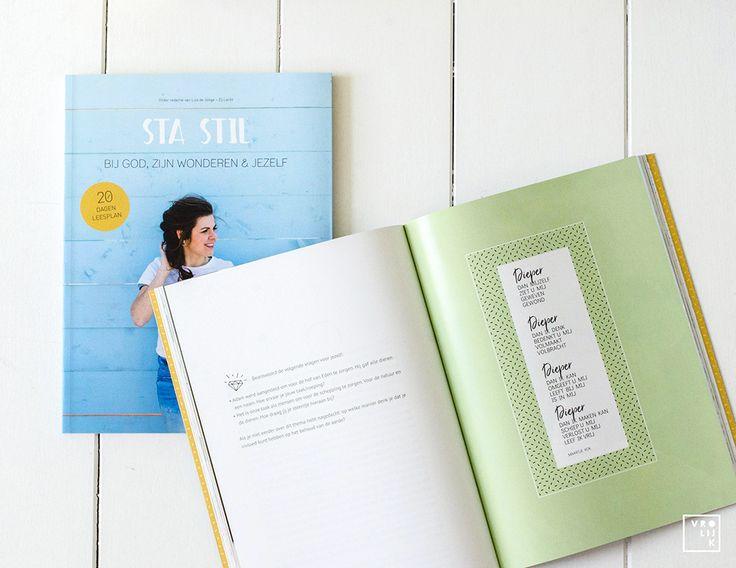 """""""Sta Stil' is een heerlijk Bijbelleesplan voor de zomer - €13,95 via Vrolijk Fabriek (http://vrolijkfabriek.nl/product/sta-stil-god-wonderen/)"""