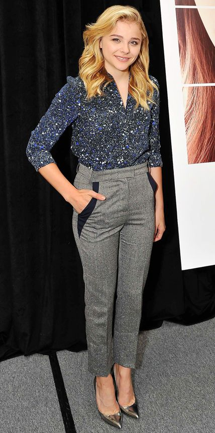 Look of the Day - August 8, 2014 - Chloe Grace Moretz from #InStyle