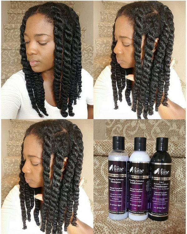 How To Preserve A Twistout On C Natural Hair