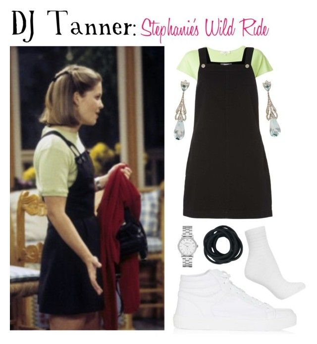 """DJ Tanner: Stephanie's Wild Ride"" by jleigh329 ❤ liked on Polyvore featuring Topshop, Etro, Dorothy Perkins and Marc by Marc Jacobs"