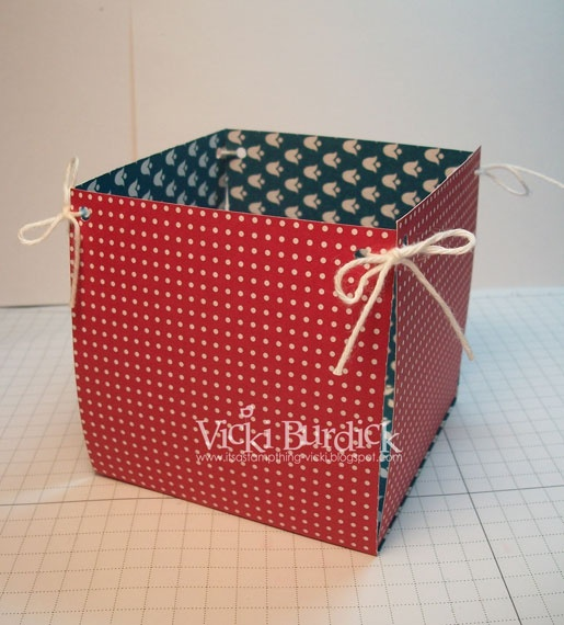 Stamping 411: Easy Treat baskets and Centerpiece
