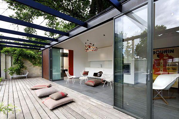 indoor/outdoor room in Melbourne