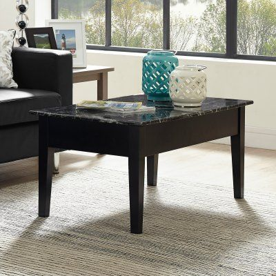 Dorel Living Faux Marble Lift Top Coffee Table   WM4057B