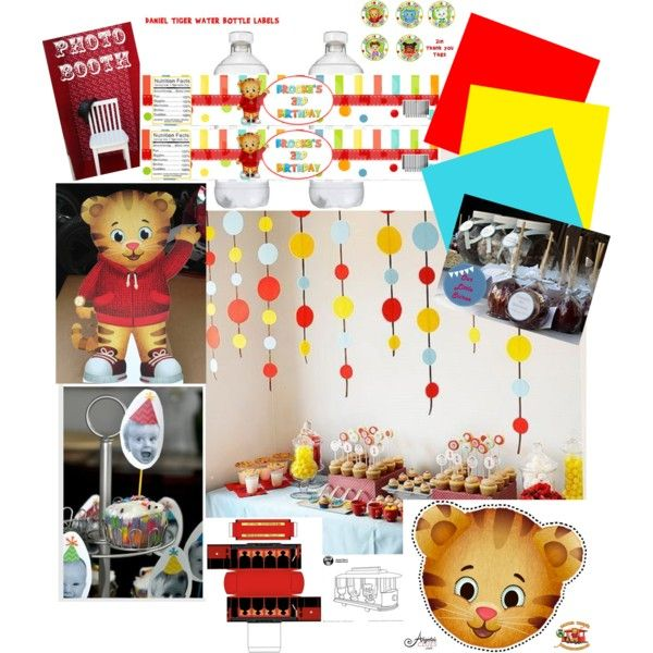 Daniel Tiger 1st Birthday Ideas Birthday Pinterest