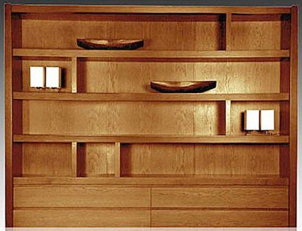 Las 25 mejores ideas sobre biblioteca moderna en pinterest - Biblioteca madera blanca ...