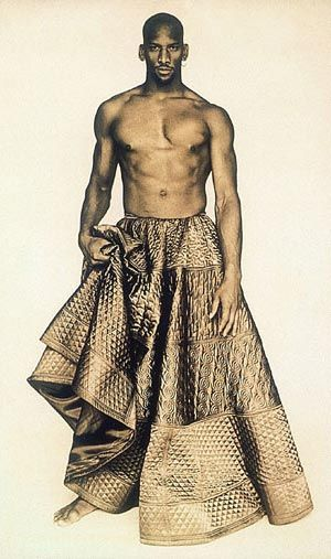 Jean Paul Gaultier Skirt -- Bravehearts: Men in Skirts at the Metropolitan Museum of Art, November 4, 2003 - February 8, 2004