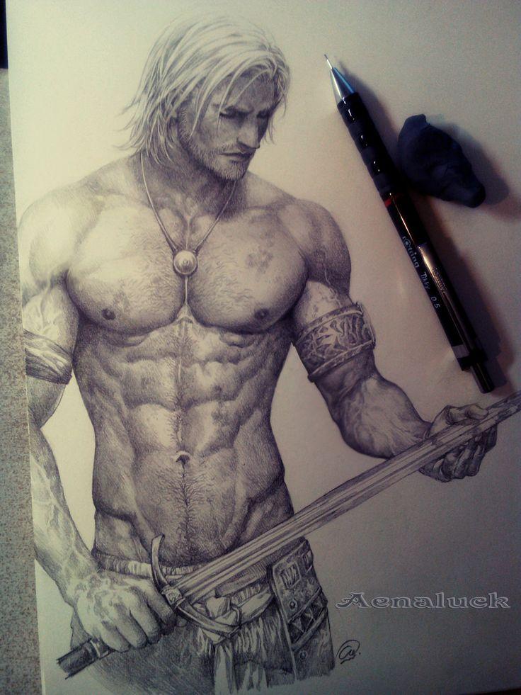 I just love to draw my Master!! by aenaluck.deviantart.com on @deviantART