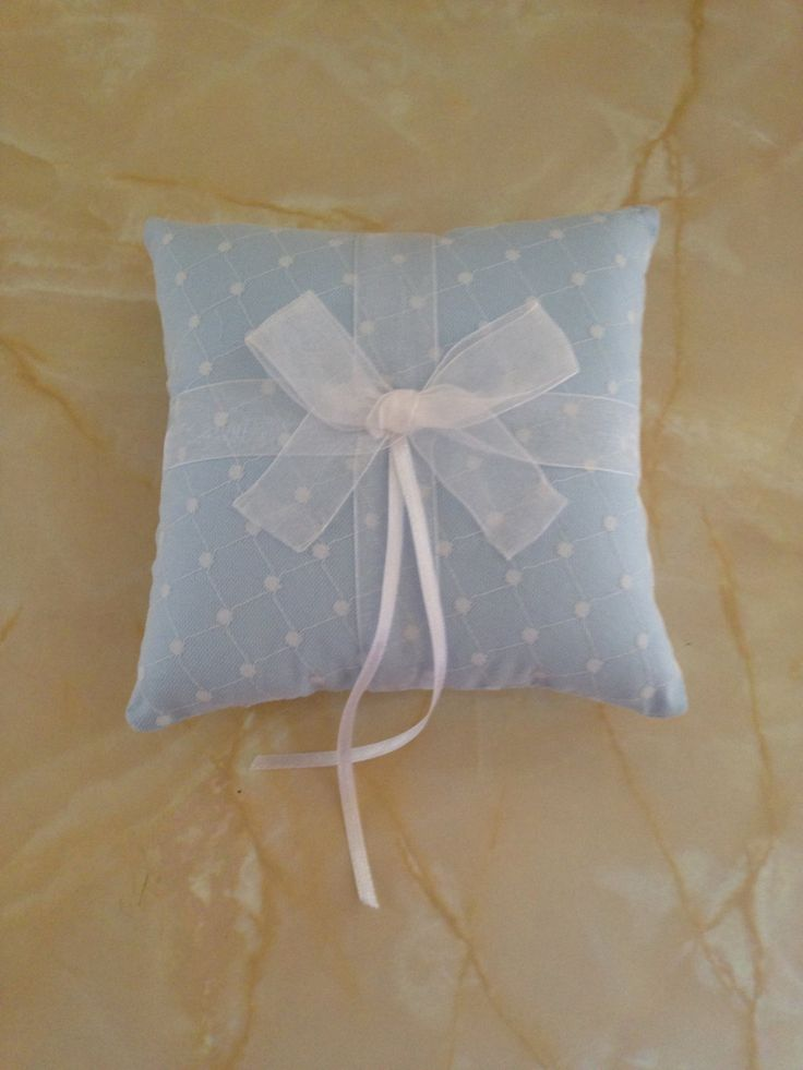 Wedding ring pillow, wedding ring cushion, ring bearer pillow by AndiesAccessoriesUK on Etsy