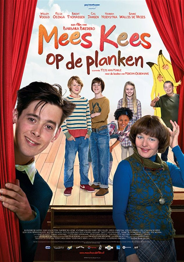 Mees Kees op de Planken - poster