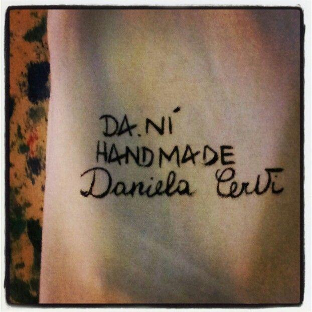 DA.NI' hand made by Daniela Cervi