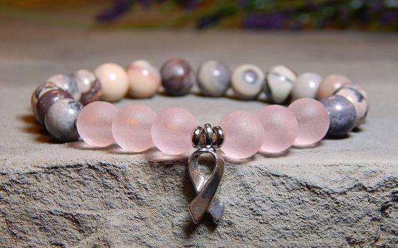 Overlevende armband roze armband, armband van bewustzijn, inspiratie roze sieraden Survivor sieraden, Breast Cancer Survivor, Survivor Gift