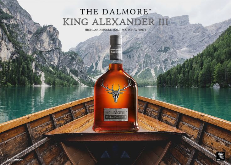 The Dalmore King Alexander III Scotch Whisky - This artwork has not been endorsed by the Dalmore Whisky Company, this is purely my own creation.