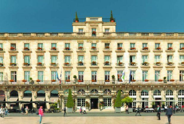 Grand Hôtel de Bordeaux & SPA: de la ville aux vignes.