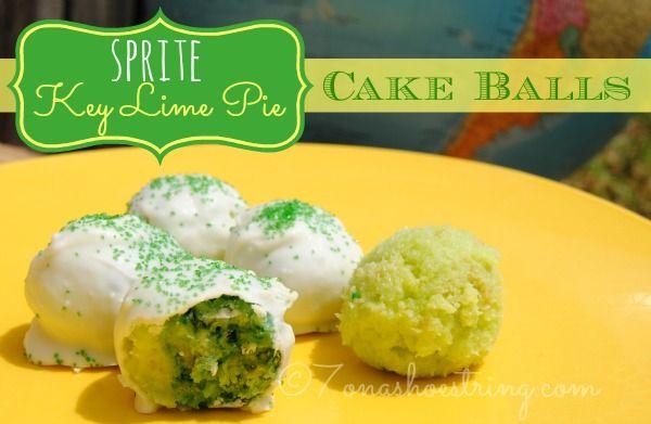 Key Lime Cake Balls Recipe