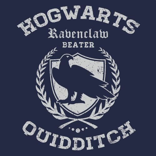 Quidditch Ravenclaw T-Shirt If you are analytical, intelligent, logical but impractical, curious, inquisitive, creative, witty, wise, an observer more often than a participant, interested in understan