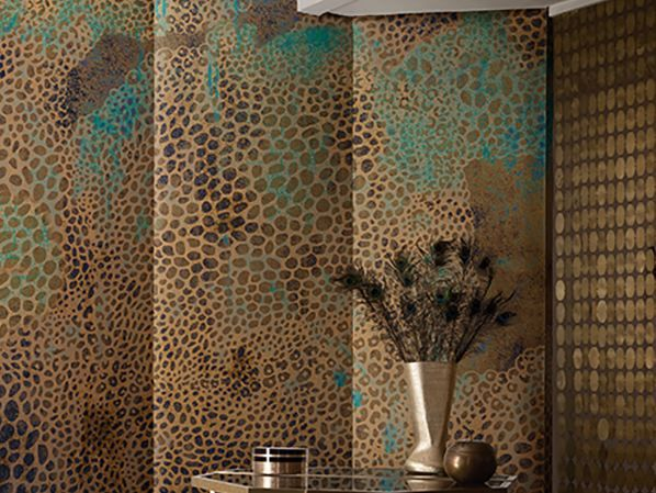 Download the catalogue and request prices of Cheetah By wall&decò, motif wallpaper design Talva Design, contemporary wallpaper 2017 Collection
