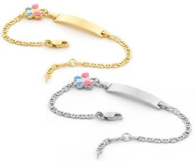 Piccolo Baby ID Bracelet - PINK