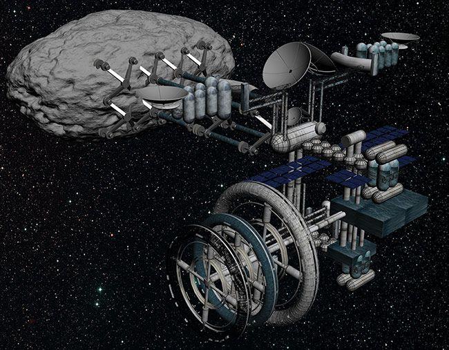 Asteroid Mining Module