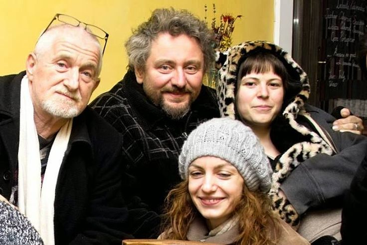 Csoportkép: ef Zámbó István, Végh Lajos, Ila, Városi Gabi