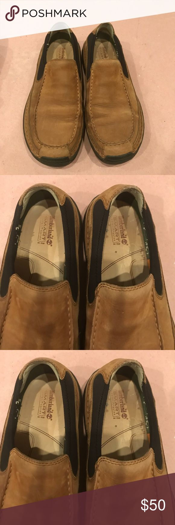 Sz 11 men's timberland Slip on looks new Timberland Shoes Loafers & Slip-Ons