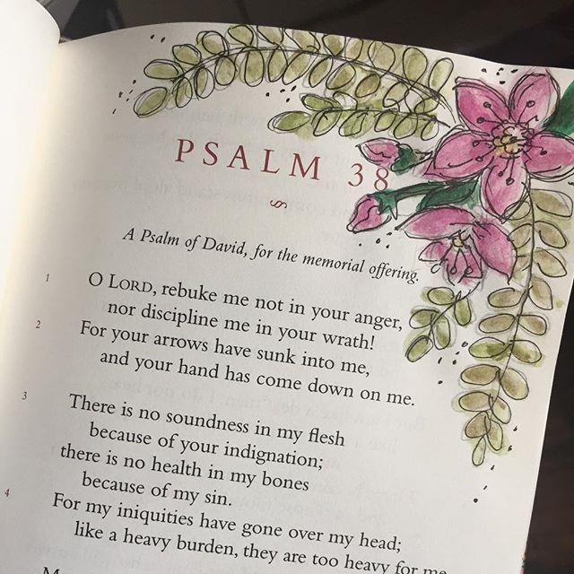 Psalm 38 / patjournals