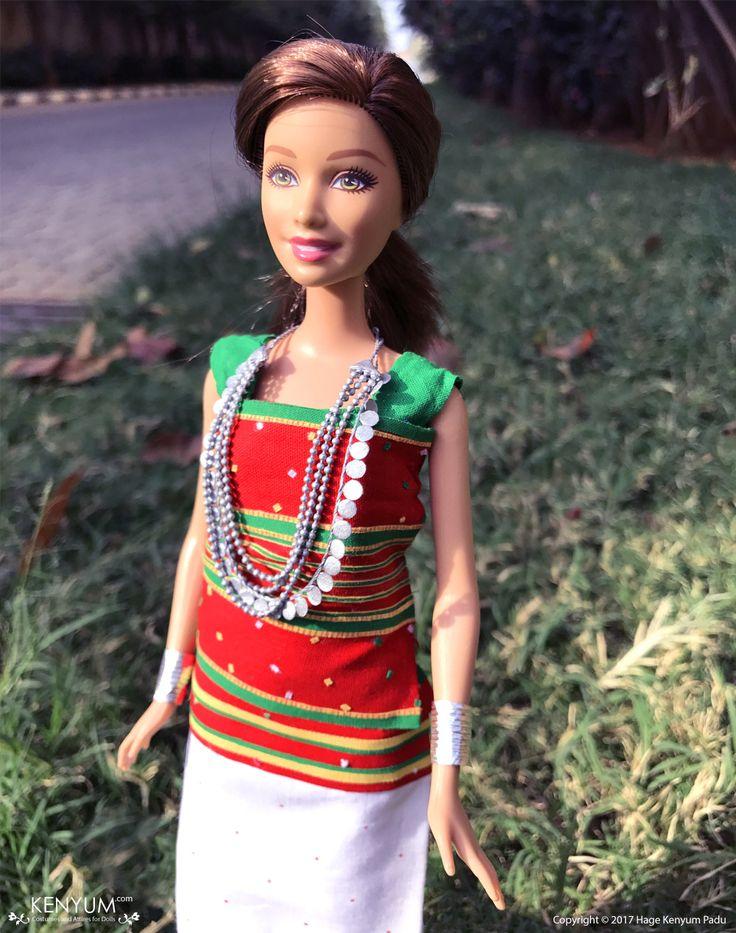 Barbie doll in Tripuri attire