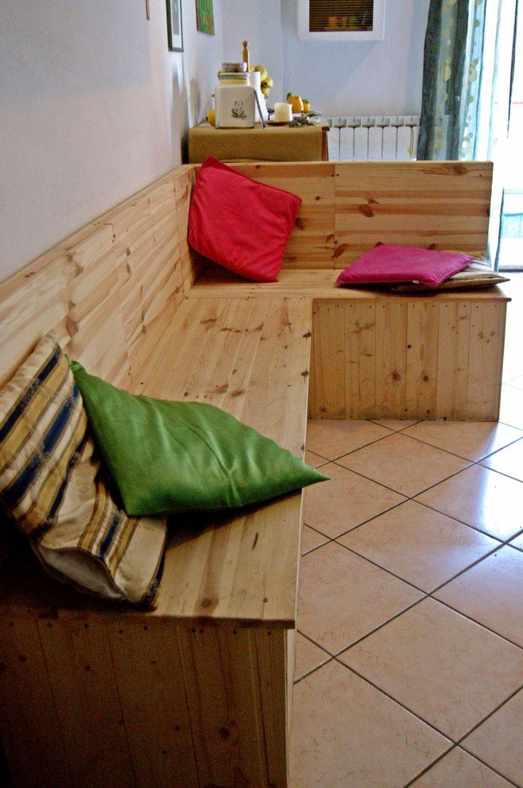 Oltre 25 fantastiche idee su panca ad angolo su pinterest cucina panca con seduta nicchie - Panca ad angolo per cucina ...