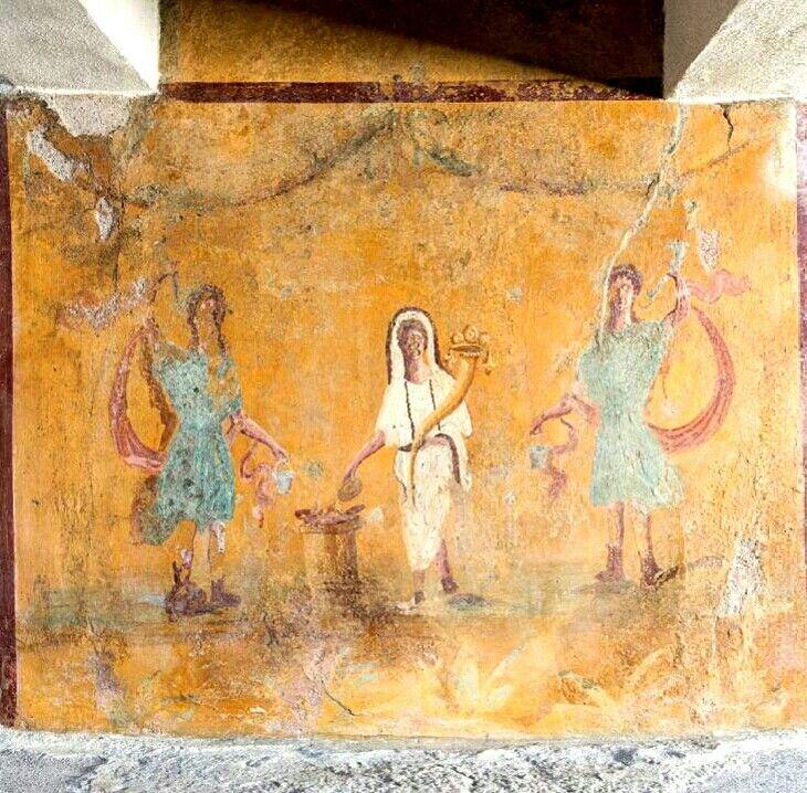 1047 best Roman frescoes images on Pinterest   Fresco, Pompeii and ...