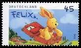 Bild der Briefmarke (Felix der Hase)