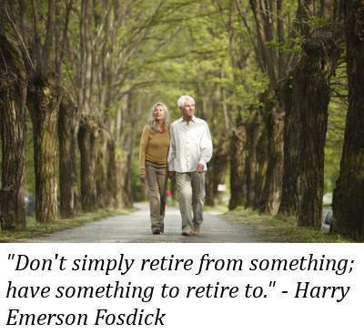 What plans do you have after your retirement?