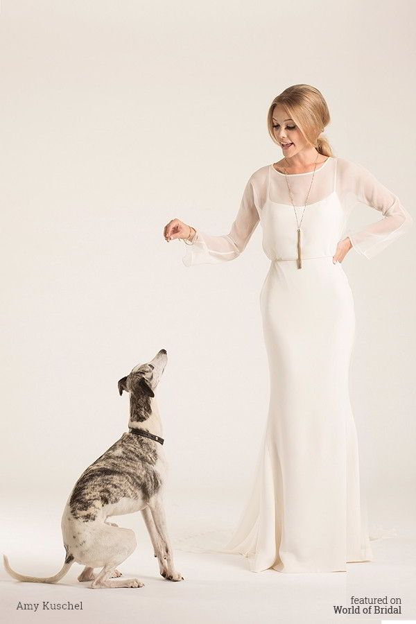 Amy Kuschel 2016 Wedding Dress