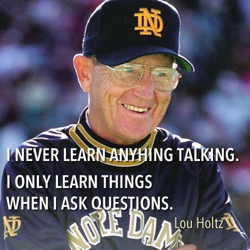 Lou Holtz Quotes